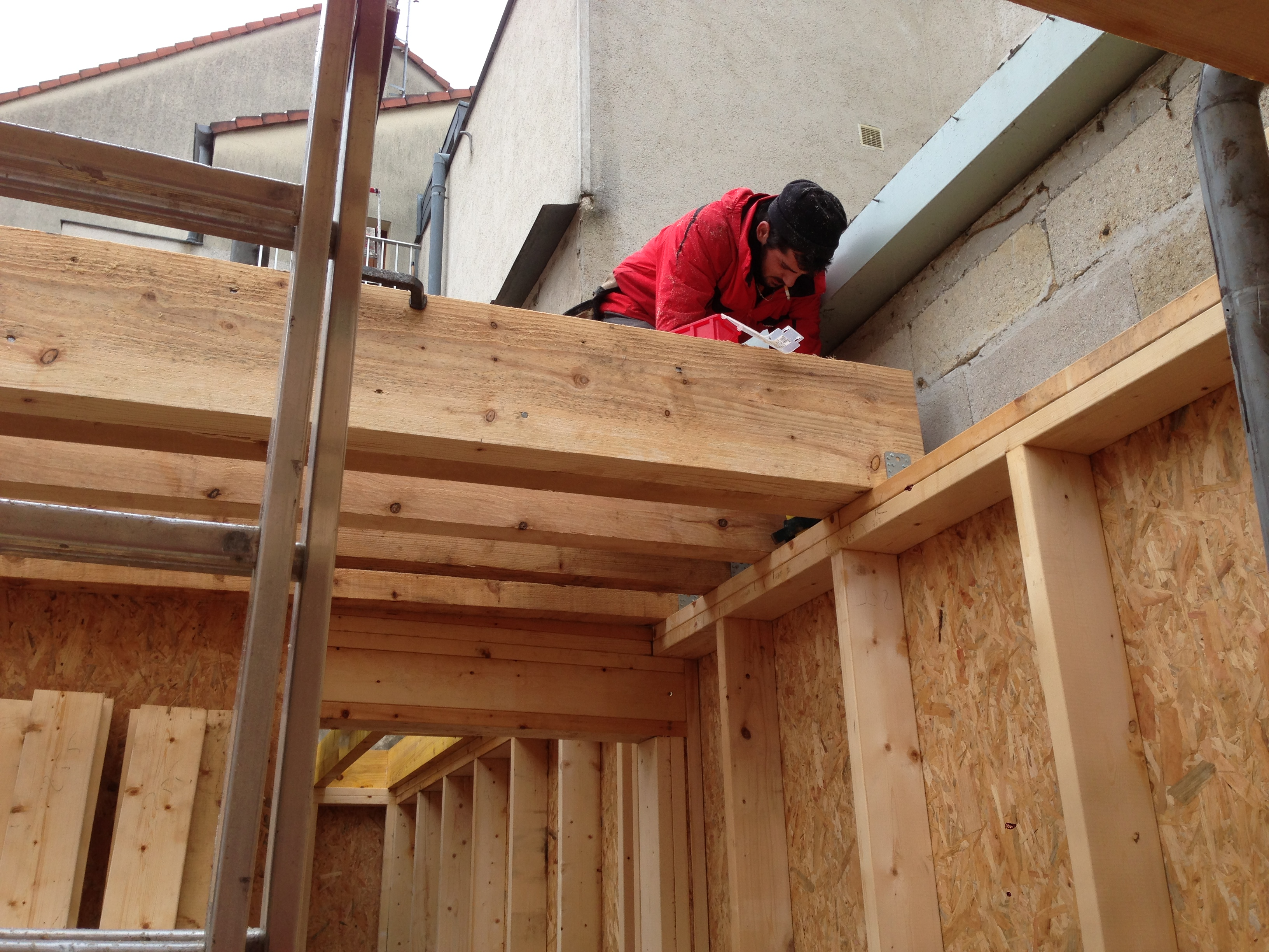 Menuiserie Lagny Sur Marne extension bois lagny sur marne - technobat construction